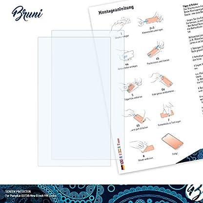 Bruni-Schutzfolie-kompatibel-mit-Pumpkin-0373B-New-8-Inch-VW-Series-Folie-glasklare-Displayschutzfolie-2X