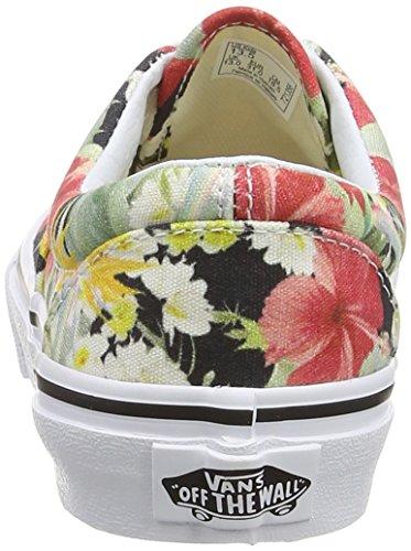 Vans Era, Baskets Basses Mixte Enfant Multicolore (Digi Aloha/Black/True White)
