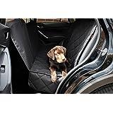 Premium Autoschondecke + 3x Gratis Zubehör (hochwertiger Sicherheitsgurt, nützliches Mikrofasertuch und praktische Tasche mit Reißverschluss) Optimaler Schutz mit dieser Hundedecke für Ihr Haustier, Hund, Auto, Sitzbezüge und Kofferraum in allen Lebenslagen. …