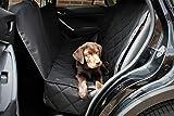 Premium Autoschondecke + 3x Gratis Zubehör (hochwertiger Sicherheitsgurt, nützliches Mikrofasertuch und praktische Tasche mit Reißverschluss) Optimaler Schutz mit dieser Hundedecke für Ihr Haustier, Hund, Auto, Sitzbezüge und Kofferraum in allen Lebenslagen.
