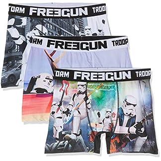 FREEGUN Boxer Pantis (Pack de 3) para Hombre