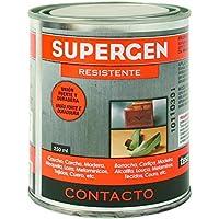 Tesa Tape 14020004 Supergen Adhesivo Contacto Resistente en Bote 250 ML, Amarillento, 250ml