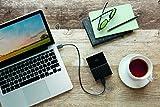 WD 1TB My Passport for Mac Portable External Hard Drive - USB-C/USB-A Ready - WDBFKF0010BBK-WESE