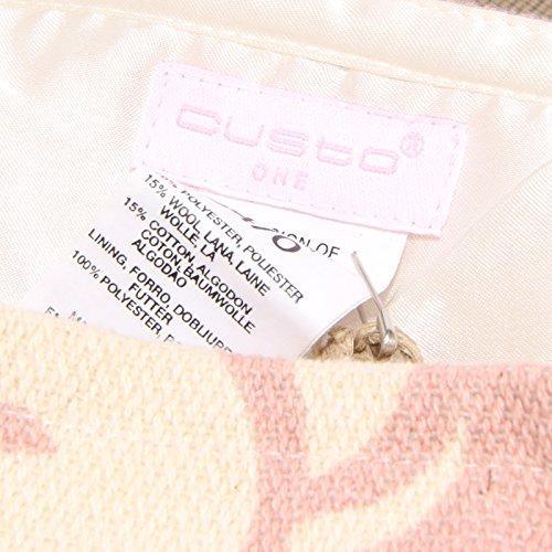8346U gonna donna CUSTO BARCELONA cotton/wool skirt woman Marrone