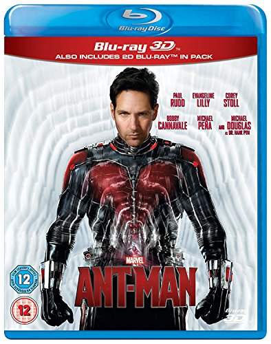 Ant-Man 3D BD [Blu-ray] [UK Import]