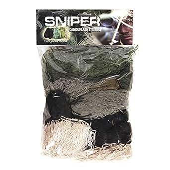 AlxShop - Fils De Sniper Camouflage - Couleur : Woodland