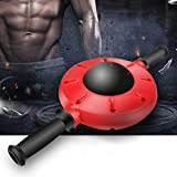 su-luoyu 360° Bauchmuskel Bauch Rad Bauchtrainer Fitness Rad Fitnessgeräte Bauchmuskel Trainingsgerät Unisex