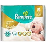 Pampers–Couches Premium Care 0nouveau-né (jusqu'à 2,5kg)–30Pièces