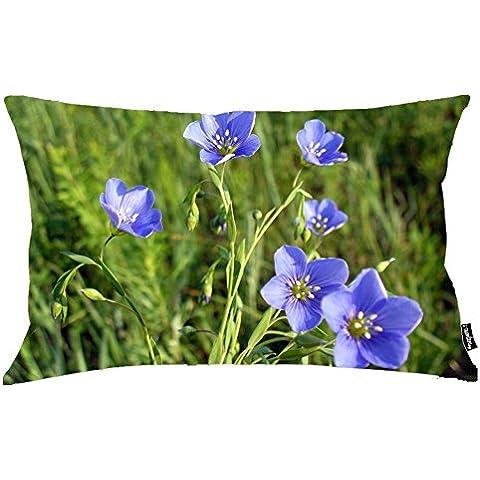 i FaMuRay Blue Blossoms on a Green Field-1920x1200-flower-wallpaper Theme Merry
