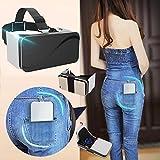 Pocket VR Auriculares / Visor para Samsung, Plegable Realidad Virtual Gafas [Anti Azul Ray] para Juegos de Películas, 3D VR Goggles Box se adapta para iPhone 8 7 6S 6 Plus Galaxy S8 S7 S6 S5 A7 & More 4.5-6.0' Celulares