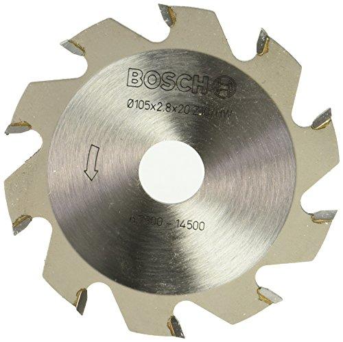 Bosch Professional Zubehör 3608641001 Scheibenfräser 10, 20 mm, 2,8 mm
