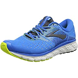 Brooks Glycerin 16, Zapatillas de Running para Hombre, Azul (Blue/Ebony/Nightlife 437), 42.5 EU