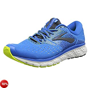 Brooks Glycerin 16 Scarpe da Running Uomo, Blu (Blue/Ebony/Nightlife 437) 44 EU