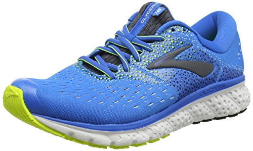 Brooks Glycerin 16, Scarpe da Running Uomo, Blu (Blue/Ebony/Nightlife 437), 44.5 EU