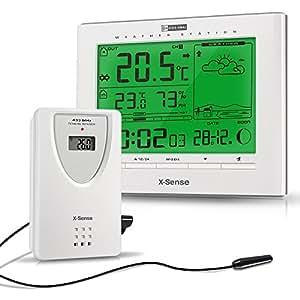 X-Sense Station météo sans fil avec capteur extérieur ±50°C AG-21