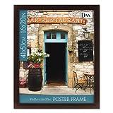 DAX Ashwood Mahogany Poster Frame, 16 x 20, Mahogany Frame by DAX MANUFACTURING INC.