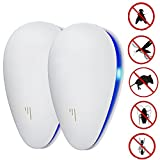 2 Pack Ultraschall Schädlingsbekämpfer Pest Mause Repeller Control -...