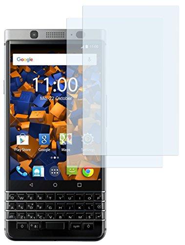 mumbi Schutzfolie kompatibel mit Blackberry KEYone Folie klar, Displayschutzfolie (6x)