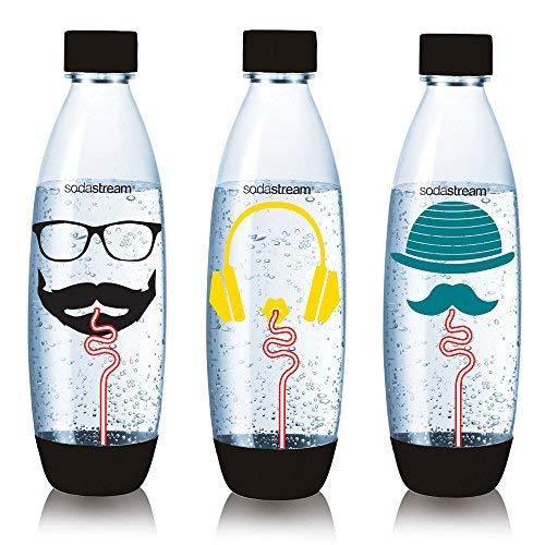Sodastream Pack 3 Bouteilles Grand, Plastique - 26,5 x 9 x 26 cm