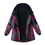 NINGSANJIN Damen Übergangsjacke Jacke Mit Kapuze (Rosa,XXL)