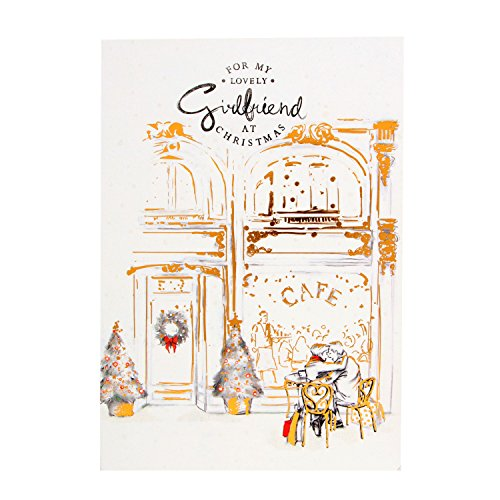 Weihnachtskarte Hallmark, For my lovely girlfriend – Medium.'Karte Weihnachten Hallmark für Girlfriend' Sie sehr viel bedeuten-Medium