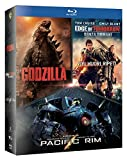 Godzilla / Edge Of Tomorrow / Pacific Rim Boxset (3 Blu-Ray) [Italia] [Blu-ray]