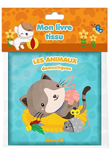 Mon livre tissu - Les animaux domestiques par COLLECTIF