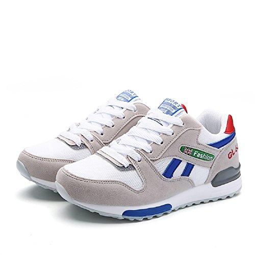 Scarpe da Corsa Donna Scarpe Da Sportive Running Basket Sneakers 35-40 Grigio & Blu