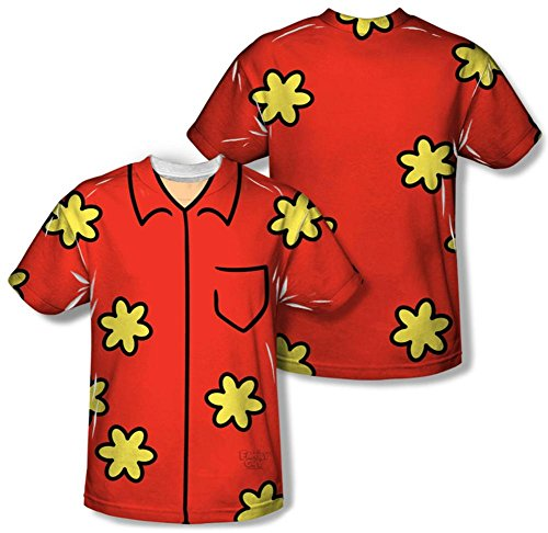 Family Guy Quagmire Erwachsene Sublimation Kostüm T-Shirt -