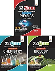 32 Years NEET Chapter-wise & Topic-wise Solved Papers Physics, Chemistry & Biology (2019 - 1988) 14th