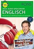 PONS Mein Audio-Sprachkurs Englisch: Mit dem Hörkurs in 330 Minuten flexibel unterwegs lernen