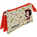 Grafoplas 37540605 Mafalda Estuches, 22 cm, Multicolor
