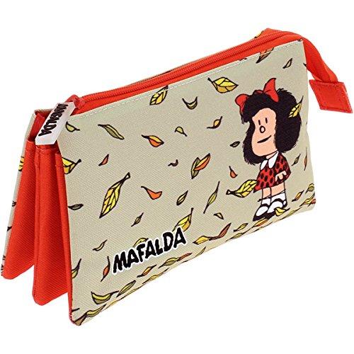 Grafoplas 37540605 Mafalda Estuches, 22 cm, Multicolor