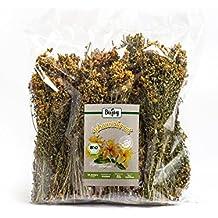 BIO-Johanniskraut von Biojoy in Premium-Qualität  im Ganzen getrocknete Stängel & Blüten für Johanniskraut-Tee   medizinisch genutzte Heilpflanze   Hypericum perforatum (250 Gramm)