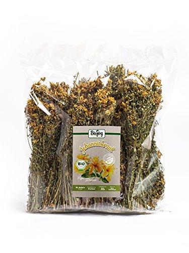 BIO-Johanniskraut von Biojoy in Premium-Qualität| im Ganzen getrocknete Stängel & Blüten für...