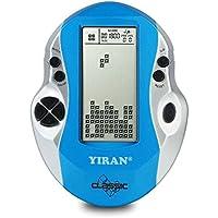 Klassische Tetris Spielkonsole Handheld Spiel, Big Screen, Eingebaute 26 Spiele, gutes Geschenk für Kinder pädagogische Spielzeug (Light blue)