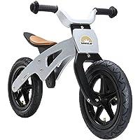 BIKESTAR Vélo Draisienne Enfants en Bois pour Garcons et Filles de 3-4 Ans ★ Vélo sans pédales évolutive 12 Pouces ★