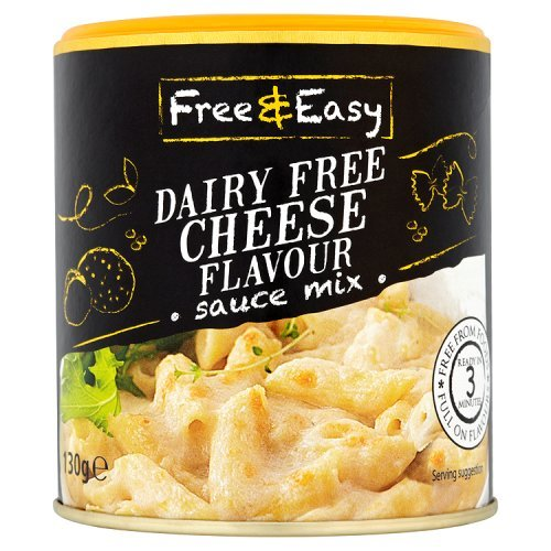 Free & Easy Dairy Free Cheese Flavour Sauce Mix, 130g