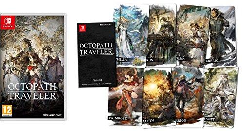 Octopath Traveler - Edición estándar + Cartas coleccionables (precio: Traveler€)