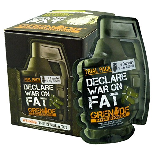 NO.1# WEIGHT LOSS  GRENADE THERMO DETONATOR FAT BURNER – TRIAL PACK REVIEWS DIET PLAN UK