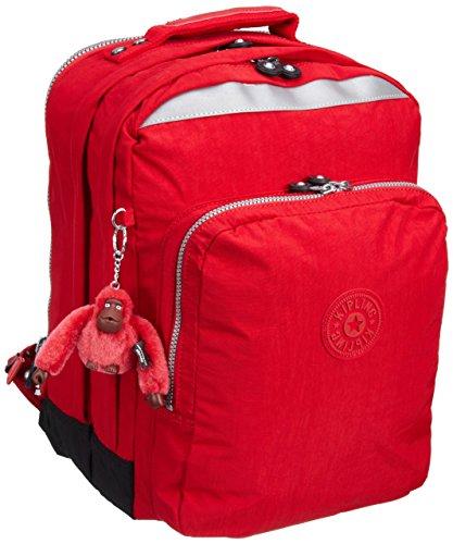 Kipling College Mochila Grande, 30 Litros, Color Red (Rojo)