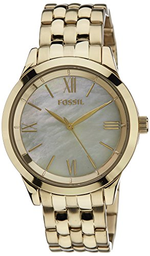 Fossil Ainsley Ro Analog Gold Dial Women'S Watch -BQ1757