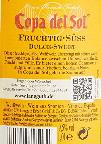 Copa del Sol Weiß Fruchtig-Süß (6 x 1 l)