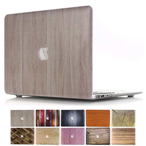 MacBook Pro 38,1 cm A1707 case, Papyhall Bling Bling cristallo gomma rivestito custodia cover rigida colorati glitter design in plastica rigida per MacBook Pro 38,1 cm 2016 Release (A1707) 2 Wood-Burlywood
