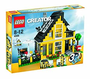 lego 4996 legoville jeux de construction la maison de vacances jeux et jouets. Black Bedroom Furniture Sets. Home Design Ideas