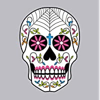 Sugar Skull Day of The Dead Dia Los Muertes Birthday Halloween Card