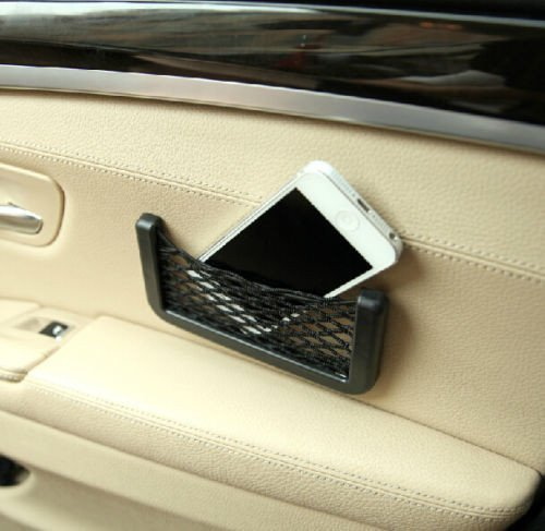 Universal Storage Bag Box Car Seat Side Back Net Phone Holder Pocket Organizer  available at amazon for Rs.125