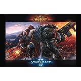 11x17 Poster Print World of Warcraft & Starcraft by Innerwallz