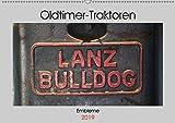 Oldtimer Traktoren - Embleme (Wandkalender 2019 DIN A2 quer): Embleme und Schriftzüge von Oldtimer-Traktoren (Monatskalender, 14 Seiten ) (CALVENDO Hobbys)