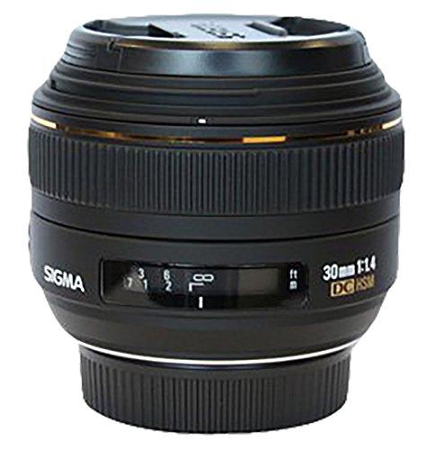Sigma 30 mm F1,4 EX DC HSM-Objektiv (62 mm Filtergewinde) für Nikon Objektivbajonett
